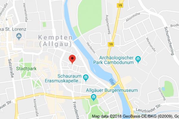 Logopaedie Mia Weirich Stimmtherapie Atemtherapie Rathausplatz 14 Kempten Anfahrt